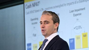 """Concerns around the coronavirus """"will weigh on sentiment"""", CBA chief Matt Comyn has warned."""
