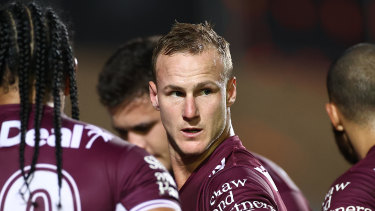 Manly captain Daly Cherry-Evans.