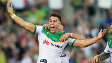 Canberra Raiders winger Nick Cotric remains on Brad Fittler's radar.