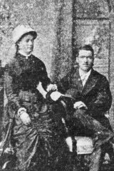 Martha and Henry Needle soon after their marriage.