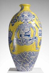 Grayson Perry's The Rosetta Vase