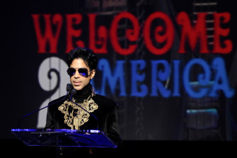 Prince, who died in 2016.