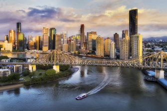 Brisbane is next month expected to be named host of the 2032 Olympics.