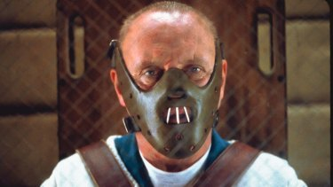 Anthony Hopkins as Hannibal Lecter.