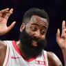 Rare air: Harden joins Jordan after 60-point outburst