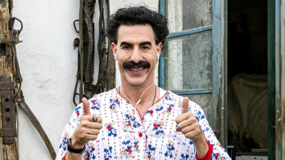In a sign of changed times, the new Borat is far less funny than its predecessor