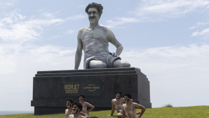 'You will enjoy it more than Rudolph Giuliani': Borat returns to Bondi