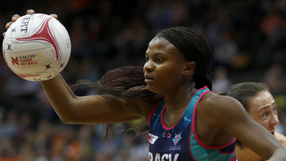 Vixens move to re-sign star international
