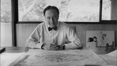 Groundbreaking Australian architect Harry Seidler.