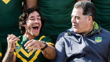 Future Immortal Johnathan Thurston has close ties with the Canberra Raiders and almost joined the club.