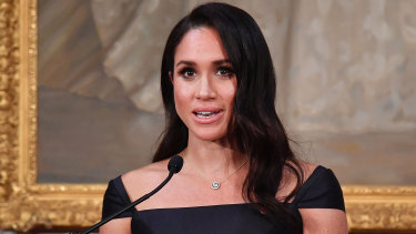 Markle has faced intense media scrutiny since last May's wedding.