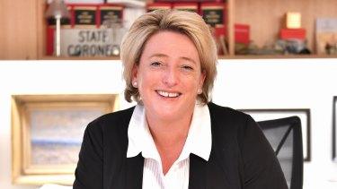 Under investigation: Victoria's State Coroner Sara Hinchey.