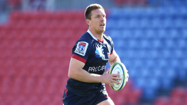 Rebels captain Dane Haylett-Perry says Melbourne have work to do before finals.