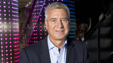 Scentre Group chief executive Peter Allen.