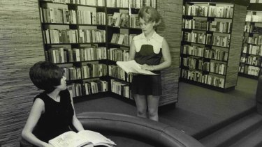 The then-newly opened Co-op Bookshop on Bay Street, Ultimo, in 1970.