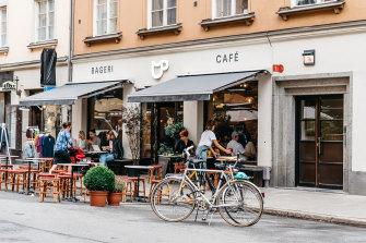 Sweden's economy is largely cashless.
