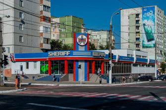 A Sheriff supermarket in Tiraspol.