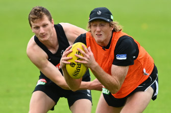 Will Hoskin-Elliott and Nathan Murphy both come in to the Anzac Day line-up for Collingwood.