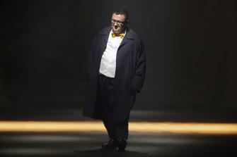 Israeli fashion designer Alber Elbaz in 2015.