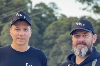 Fable Food co-founders Michael Fox and Jim Fuller.