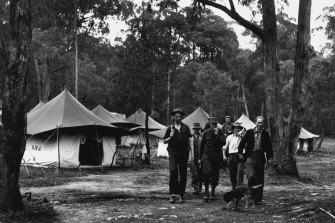 A workers' camp.