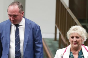 Nationals MPs Barnaby Joyce and Michelle Landry - both prominent coal industry advocates - hold seats found to be among those worst affected by future temperature rises.