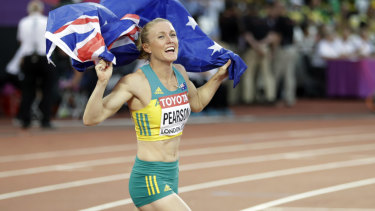 Sally Pearson is eyeing a return on the domestic scene.