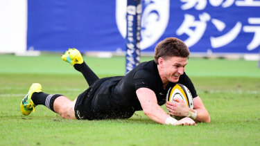 Two-time world player of the year Beauden Barrett will be crucial to New Zealand's hopes.