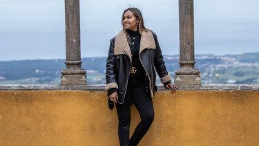 Jessica Mauboy in Lisbon this week.