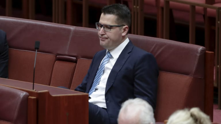 ACT Liberal Senator Zed Seselja: opposed territories getting rights on assisted dying.