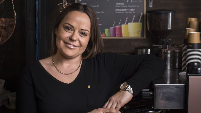 Martina Dokoza, owner of The Perfect Mouthful in Parramatta, has been nominated as Sydney's best female barista.