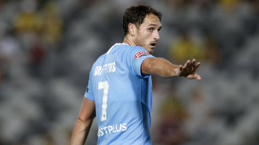 Eye-opener: Melbourne City defender Rostyn Griffiths played a season of club football in Uzbekistan.