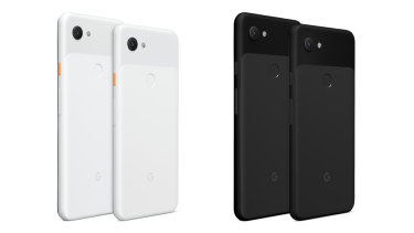 The Pixel 3a and Pixel 3a XL are identical phones except for screen and battery size.