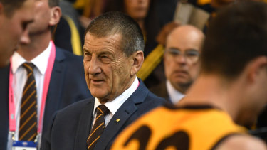 "Hawthorn president Jeff Kennett eventually backed away from his ""new arrivals"" comments."
