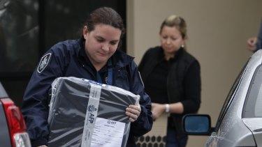 Terror raids in Hallam, Melbourne, in April 2015.
