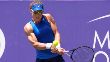 Sam Stosur is determined to rebuild her ranking.