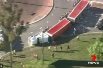 A truck carrying interstate waste that rolled in Acacia Ridge this month was on its way to a BMI Group facility, the company says.