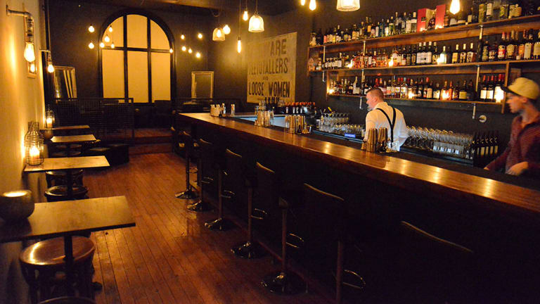 Tomcat takes the Fortitude Valley bar scene up a secret careworn set of stairs to a whole new level, where a stunning cavernous space of moody atmospheric rooms and nooks awaits.