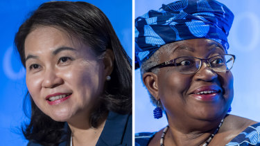Yoo Myung-hee and Ngozi Okonjo-Iweala qualified for the final round in a race expected to end in the coming weeks.