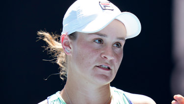 Local hope Ashleigh Barty went out in the semi-finals of the Australian Open.