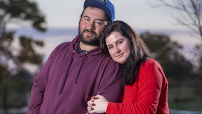 'A little joy in our lives': caught in the crosshairs, love still wins