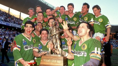 NRL Grand Final 1989: The Raiders win a stunning grand final 19-14