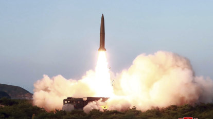 Frustrated with the US, North Korea fires missiles