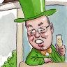 Greens pollie David Shoebridge in neighbourhood fracas over gutter