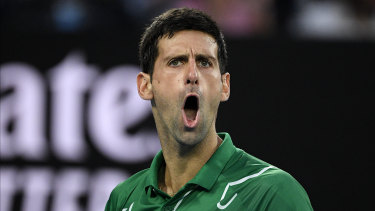 """Novak Djokovic says he is """"opposed"""" to vaccination."""