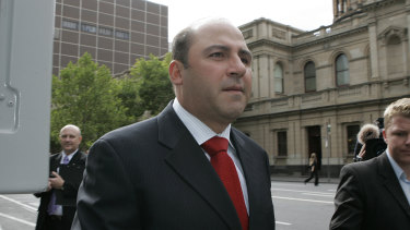 Tony Mokbel outside the Supreme Court in 2006.