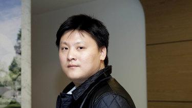 Richard Gu, former boss of AXF Group.