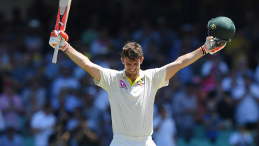 Mitch Marsh is back in the Australian Test side.