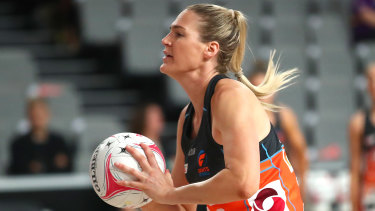 Caitlin Bassett's Giants played a 61-61 draw with Queensland Firebirds.