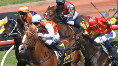 Standout proves too strong for Cosmic Force in the Heritage Stakes at Rosehill